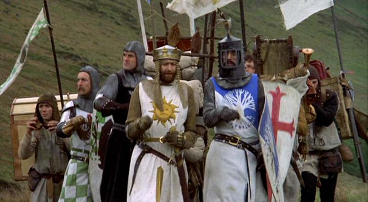FILM: Monty Python & the Holy Grail (15)